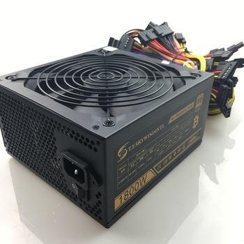 Buy 1800W Power Supply 1800w pc power supply ATX Miner Power PSU ATX Mining Machine 6 Pieces Graphics Card GPU Miner Antminer PSU