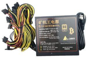 Buy free ship 1600w power supply for asic bitcoin miner pico psu100v 110v 220v antminer PSU 1600w max 1800w For Worldwide ATX Power