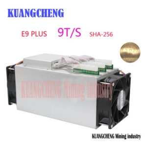 Buy KUANGCHENG Ebit E9 Plus 9T  Bitcoin Miner USED 14nm Asic Miner  Btc Miner Better Than Antminer S7 Equivalent to Antminer S9