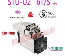 Buy new  Asic SCC XSC Miner StrongU Miner STU-U2 6TH/S With PSU Blake2B Better Than Antminer A3 Innosilicon S11