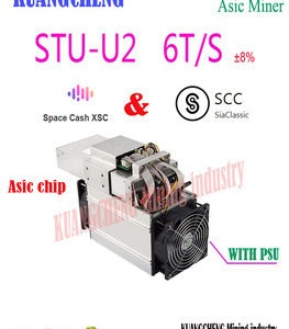Buy new  Asic SCC XSC Miner StrongU Miner STU-U2 6TH/S With PSU Blake2B Better Than Antminer A3 Innosilicon S11
