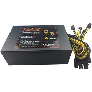 Buy T.F.SKYWINDINTL 1600W APW3 PSU Mining Power Supply Antminer D3 S9 L3 Asic S9 PC Computer Power Supply Ethereum Coin Bitcoin