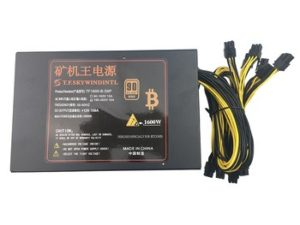Buy T.F.SKYWINDINTL 1600w pc power supply psu antminer S7 S9 L3+ D3 A4 A6 741 E9 miner machine server mining board psu bitmain apw3