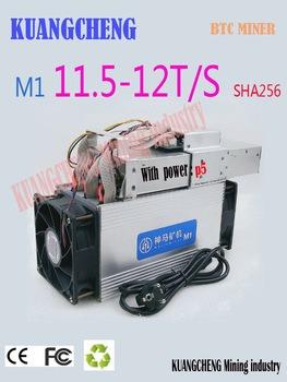 Buy Used Asic BTC BCH Miner WhatsMiner M1 11.5T-12.5T Economic Than Antminer S9 S11 S15 T15 T9 Z9 B7 WhatsMiner M3 M3X M10