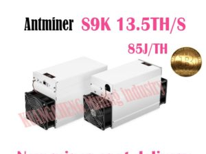 Buy USED  AntMiner S9K 13.5T Bitcoin Miner NO PSU Asic BTC BCH Miner Better Thanbitmain BTC antminer S9 core a1 Innosilicon T2 T2T