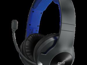 Гарнитура проводная Hori PS4-159U Gaming Headset Pro для PS4 Black