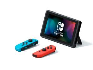 Консоль игровая Nintendo Switch New неоновый синий / неоновый красный (045496452643)