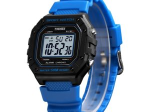 Купить SKMEI Fashion Digital Watch Men Outdoor Sport Wristwatch Waterproof Countdown Chronograph Military Clock Relogio Masculino 1496 цена вас порадует