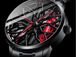 Купить Cool Sport 3D Wheel Hub Watch Creative Unique Hollow Skeleton Quartz Car Wheel Watch Men Luxury Waterproof Relogio Masculino цена вас порадует