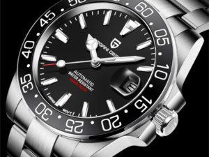 Купить PAGANI Design 2020 Neue M?nner Automatische Uhr Sapphire Luxus Mechanische Armbanduhr Edelstahl Wasserdichte Uhr Reloj Hombre цена вас порадует
