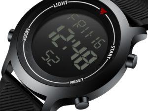 Купить Men's Wrist Watch SYNOKE Brand Watch For Men Digital Electronic Waterproof Metal Watch Frame Silicone Strap Sports Watches Mens цена вас порадует