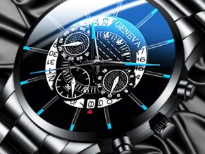 Купить Relogio Masculino Fashion Mens Stainless Steel Watches Luxury Men Business Calendar Quartz Wrist Watch Man Clock Montre Homme цена вас порадует