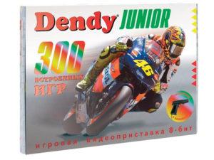 Игровая приставка Dendy Junior 300 игр + световой пистолет