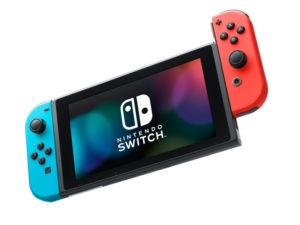 Игровая приставка Nintendo Switch Neon Red-Neon Blue HAD-001-01