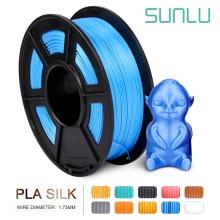 Купить pla filament 1.75mm 1kg Blue SILK 1kg 2.2 lbs 1.75mm per roll 3D Printer Filament DIY for 3D printing Refills golden цена вас порадует